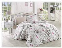 Комплект постельного белья ISSI HOME Сатин + жатый шелк 1542