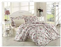Комплект постельного белья ISSI HOME Сатин + жатый шелк 106 Евро