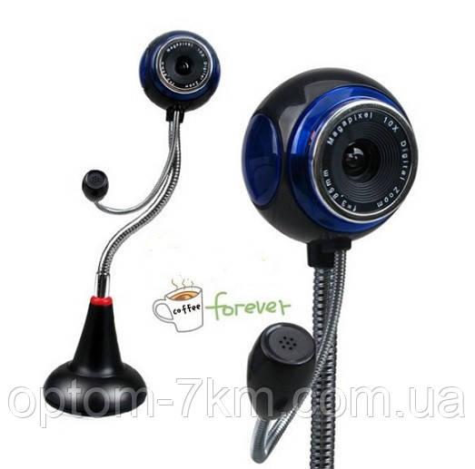 Веб Камера с Микрофоном для Компьютера Live Cam
