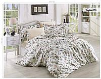 Комплект постельного белья ISSI HOME Сатин + жатый шелк 114 Евро