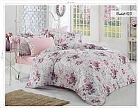 Комплект постельного белья ISSI HOME Сатин + жатый шелк 1547