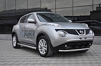 Пороги трубы Nissan Juke 2010+ (d-60)