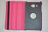 Поворотный 360° чехол-книжка для Samsung Galaxy J Max 7.0 T285YD T285YZ (розовый цвет), фото 3
