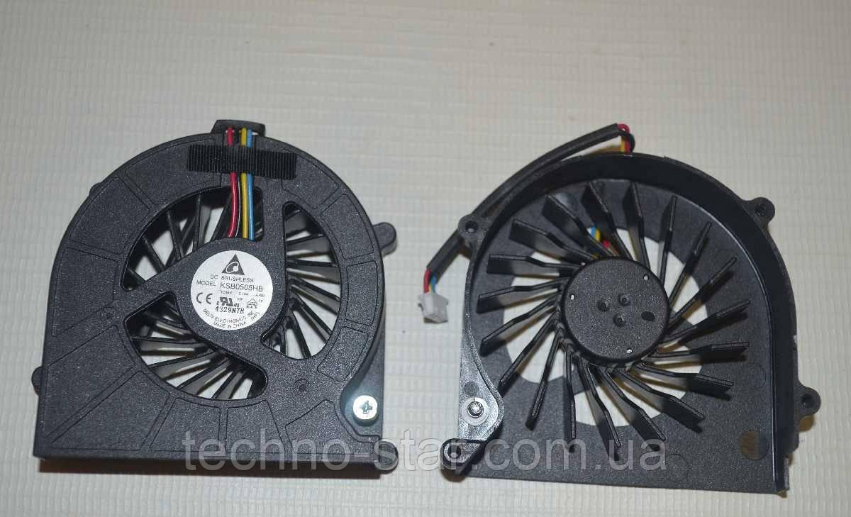 Вентилятор (кулер) DELTA KSB0505HB для Toshiba Satellite L630 L635 C640 C650 C655 CPU FAN (4-PIN)