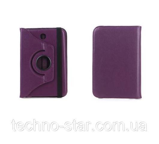 Поворотный 360° чехол-книжка для Samsung N5100 N5110 (фиолетовый цвет)
