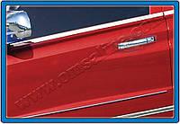 Накладки на ручки SsangYong Rexton II (2008-) 4-дверн. нерж. Omsa