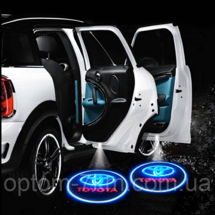 Подсветка на Двери в Автомобиль с Логотипом