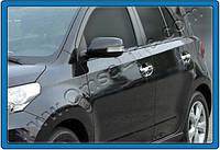 Накладки на ручки Toyota Urban Cruiser 2009-2014 (4 шт. нерж.) Omsa