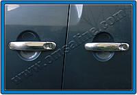Накладки на ручки Volkswagen Caddy (2003-) 3-дверн. нерж. Omsa