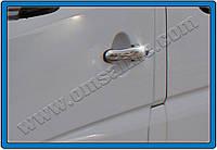 Накладки на ручки Volkswagen Crafter (2006-) 2-дверн. нерж. Omsa