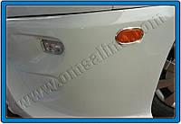 Окантовка на боковые рефлекторы Volkswagen Crafter (2006-) 6 шт. нерж. Omsa