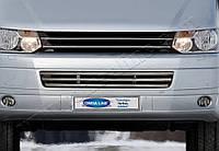 Защита переднего бампера Volkswagen T5 Transporter (2010-) нерж. Omsa