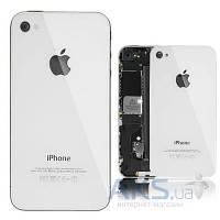 Задняя крышка корпуса Apple iPhone 4S White