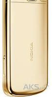 Задняя часть корпуса (крышка аккумулятора) Nokia 6700 Original Gold