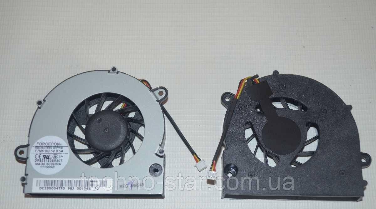 Вентилятор (кулер) FORCECON DFS531305M30T для Acer Aspire 7739 7739G 7739Z 7739ZG 7739Z-4439 4469 CPU FAN