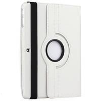 Поворотный 360° чехол-книжка для Samsung Tab3 10.1 P5200 P5210 (белый цвет)