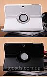 Поворотный 360° чехол-книжка для Samsung Tab3 10.1 P5200 P5210 (белый цвет), фото 2