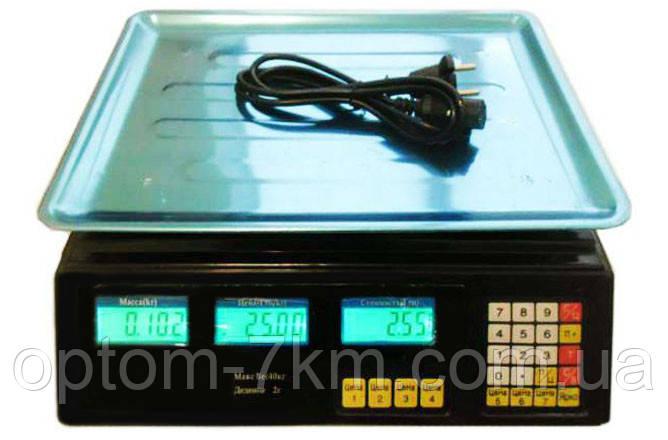 Торговые Электронные Весы Wimpex до 50 кг am