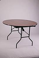 Складной круглый стол из ламината (диаметр 1200 мм, высота 750 мм)