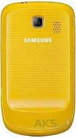 Задняя часть корпуса (крышка аккумулятора) Samsung S3850 Corby 2 Original Yellow
