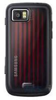Задняя часть корпуса (крышка аккумулятора) Samsung S8000 Original Black-Red