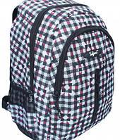 Ранец-рюкзак Safari 2 отделения  серо-коричневый 97023