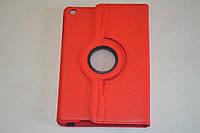 Поворотный 360° чехол-книжка для Apple iPad mini (красный цвет)