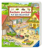 """Виммельбух книга для детей """"Найди и покажи: Ферма"""", Sachen suchen: Auf dem Bauernhof"""