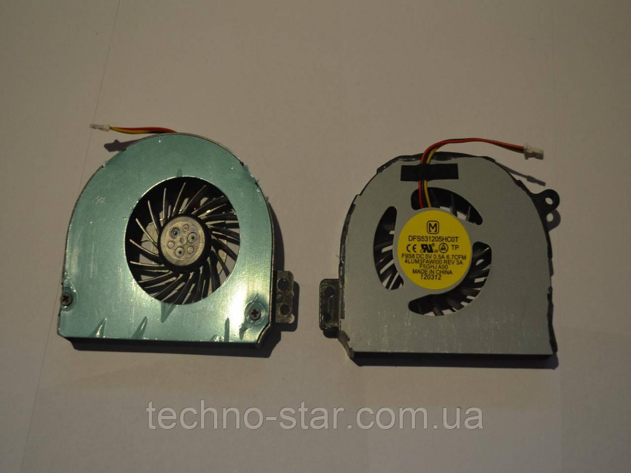 Вентилятор (кулер) FORCECON DFS531205HC0T для Dell Inspiron 14R N4120 N4110 N4010 CPU