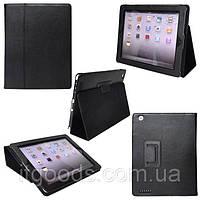 Чехол-книжка для Apple iPad 2 | 3 | 4 (черный цвет)