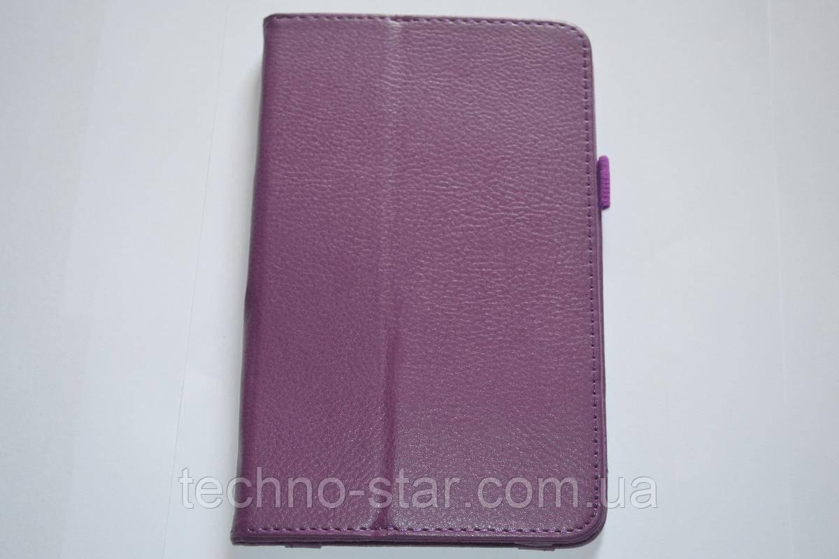 Чехол-книжка для Samsung Tab3 Lite7 T110 | T111 (фиолетовый цвет)
