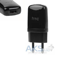 Зарядное устройство HTC TC-E250 3 in 1 (Сетевое + Автомобильное + Шнур) Black
