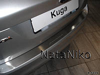 Накладка на бампер Ford Kuga I 2008-2013 NataNiko Premium