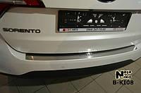 Накладка на бампер Kia Sorento II Fl 2012- NataNiko Premium