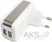 Зарядное устройство Parmp Dual Usb Home Charger + Dock, Mini, Micro Usb