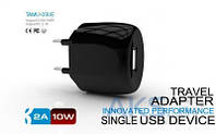 Зарядное Parmp Usb Home Charger+ Lightning Cable для iPhone 5 Black