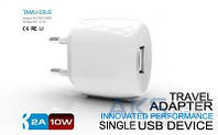 Зарядное Parmp Usb Home Charger+ Lightning Cable for Iphone 5 White