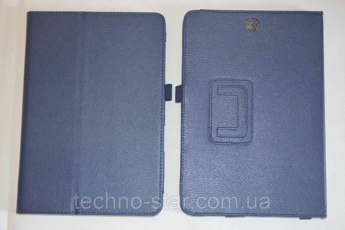 Чехол-книжка для Samsung Galaxy Tab A 9.7 T550 | T551 | T555 (темно-синий цвет)