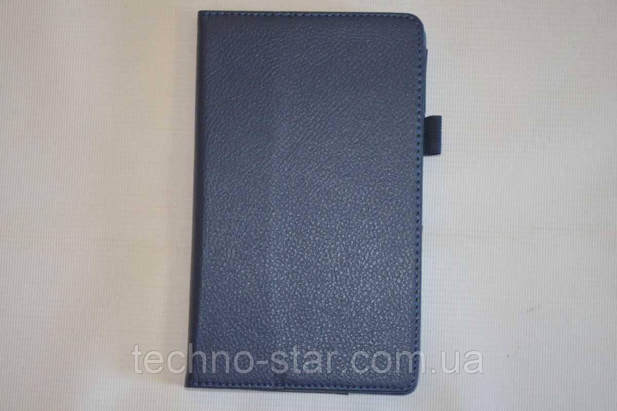 Чехол-книжка для Asus ZenPad 7.0 Z370 Z370C Z370CG Z370CL Z370KL (темно-синий цвет)