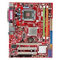 БУ Материнская плата MSI G31M3 V2 (s775, 4xSATA, 2xDDR2, VGA, 2xPCI, PCI-e x16, mATX) (G31M3 V2)