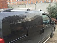 Рейлинги Fiat Fiorino, Qubo, Peugeot Bipper, Citroen Nemo 08- Серые ABS CAN