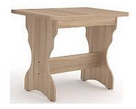 Стол кухонный КС-3 90/118х60 см. раскладная столешница, Цвет на выбор