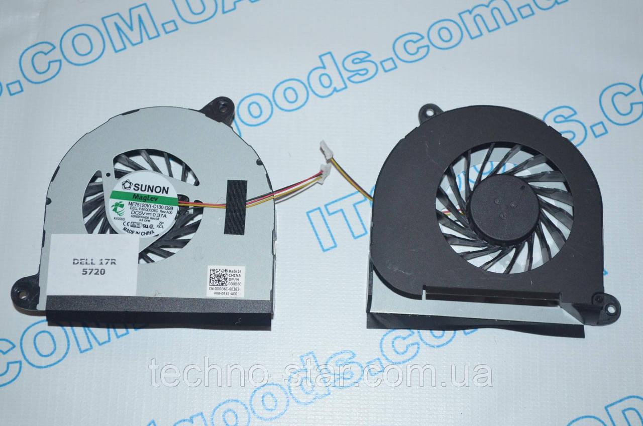 Вентилятор (кулер) SUNON MF60120V1-C181-S9A для Dell Inspiron 17R 3760 5720 N5720 7720 17R D0D6C 0D0D6C R3M3
