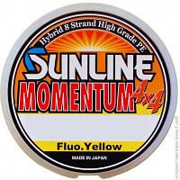 Рыболовные Лески И Шнуры Sunline Momentum 4x4 150м 0.175мм 12Lb/5.6кг, желтый (16584401)