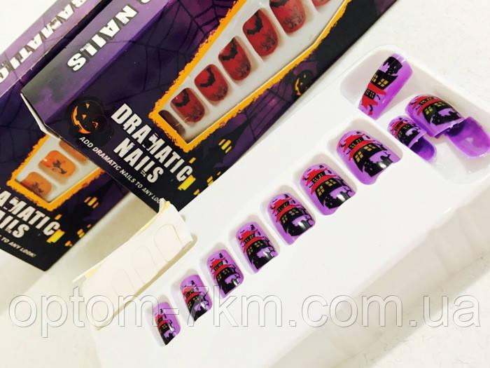 Карнавальные Накладные Ногти Маникюр Dramatic Nails Прикол для Вечеринки - Optom-7km в Одессе
