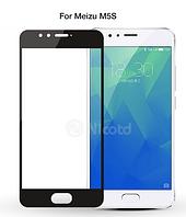 3D стекло для Meizu M5S на весь экран Black