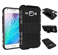 Бронированный чехол (бампер) для Samsung Galaxy J1 Duos SM-J100 J100F J100H, фото 1