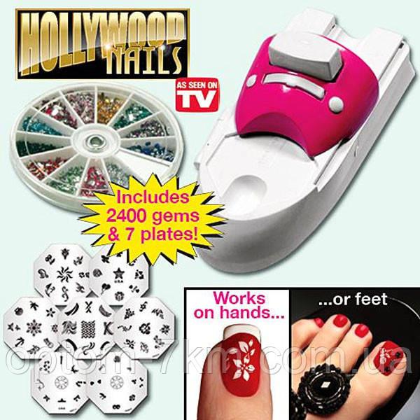 Набор для Стемпинга Дизайна Ногтей Hollywood Nails