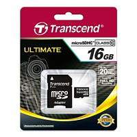 Micro SDHC 16Gb Transcend (TS16GUSDHC10)