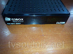 Спутниковый тюнер S2BOX-102D-RF (с ВЧ-модулятором) прошитый с каналами